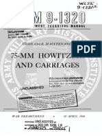 TM 9-1320 75-Mm Howitzers and Carriages 1944
