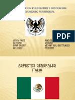 Diapositivas Italia 1