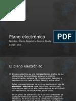 Plano electrónico