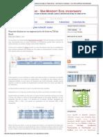 Reportes dinámicos con segmentación de datos en Tablas Excel ~ JLD EXCEL