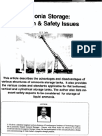 Ammonia Storage