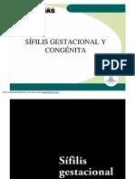 2- Sifilis Gestacional y Congenita