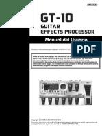 GT-10 Manual