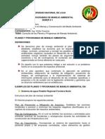 Deber 1 Consulta de Los Planes y Programas de Manejo Ambiental