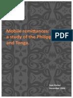 Mobile Remittances