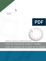 Curso de auditor líder IRCA2245SP