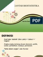 Pengantar Biostatistika