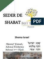 Seder de Shabat