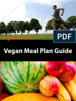OrganicAthlete Vegan Meal Plan