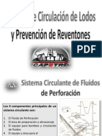 Sistema de Circulacion de Lodos y Prevencion de Reventones