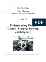 3 nysdtsea unit 3 understanding vehicle control starting -steering and stopping