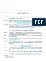 Mathematical General Relativity Bib-mgr