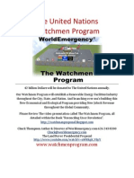 the United Nations Watchmen Program