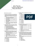 Try Out Ujian Nasional Ekonomi SMA IPA-IPS 2013