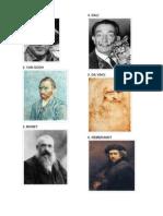 Pintores reconocidos