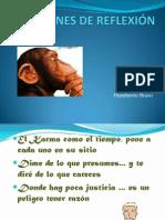 REFRANES DE REFLEXIÓN