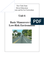 6 nysdtsea unit 6  basic maneuvers in a low risk environment