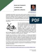 Los Mensajes Que Transmite La Famosa Obra Don Quijote de La Mancha