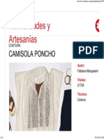 Camisola Poncho
