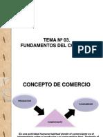 Tema No 01. Generalidades Del Comercio y Comerciante