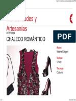Chaleco romántico