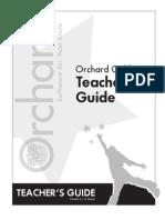 Gold Star Teachers Guide