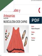 Musculosa Dos Capas