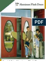 Special-Lite Aluminum Flush Doors Brochure