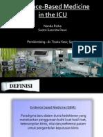Evidedence-Based Medicine in the ICU (2)