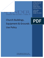 Building Use Policy