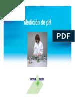 Medición de pH 2010