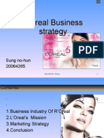 L'Oreal Business strategy
