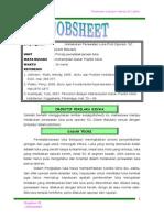 Job Sheet GB