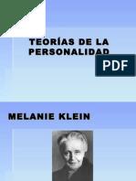 Melanie Klein - Donald Winnicott
