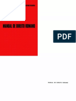 Alexandre Correia & Gaetano Sciascia - Manual de Direito Romano