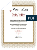 Abuse Prevention Systems Certificate