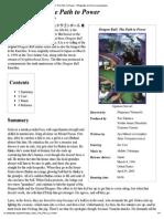 Print - Dragon Ball_ the Path to Power - Wikipedia, The Free Encyclopedia