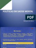 AULA- POL+ìTICAS EM SA+ÜDE MENTAL