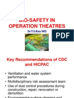 Bio safety in Operation Theaters  in O T