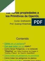 Dar Propiedades a Los Primitivos de OpenGL