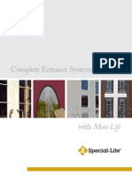Special-Lite Complete Entrance Systems Brochure