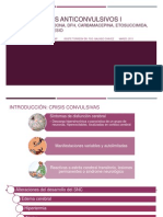 Medicamentos Anticonvulsivos I