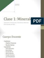 Clase 1 Intro a Yacimientos Minerales Primavera 2011