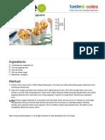 Honey-Caramel Popcorn Recipe -