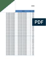 CONSOLIDACIÓN DE Cronograma de Evaluaciones Parciales y Finales de Ingenierías 2013-III