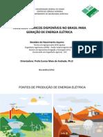 Energia hidrelétricas
