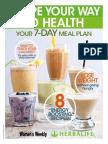 Herbalife 7Day Meal Plan