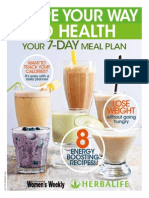 Herbalife 7Day Meal Plan