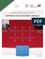 SD 38 Sistemas de Ecuaciones Lineales SANGUEDOLCE