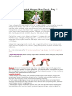 10 Pose Yoga Untuk Mengecilkan Perut